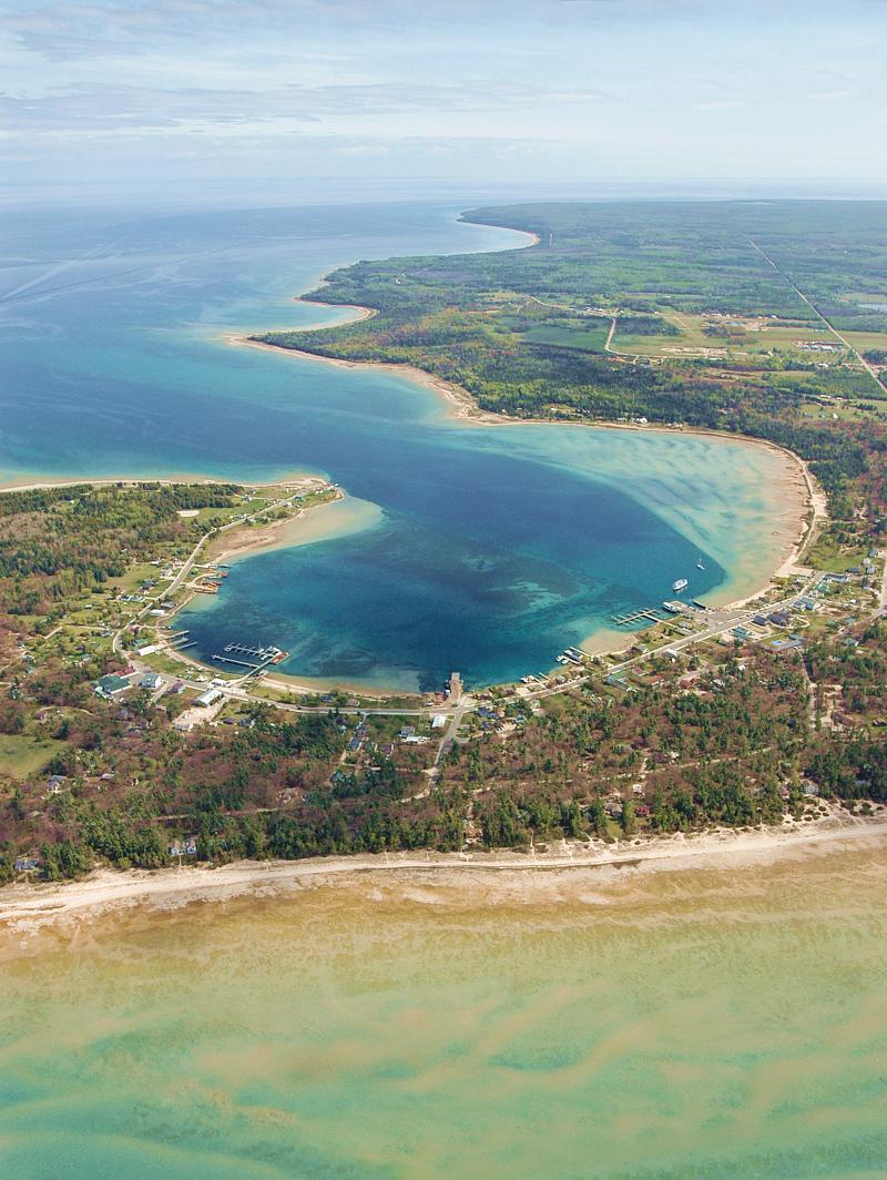 Beaver Island Harbor Lot for sale