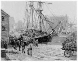 in the late 1800s the wooden schooners that had played such an important role in great lakes commerce were being phased out and could be picked up cheap