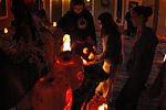 Beaver Island Laurain Lodge Halloween Pumpkin Carving Contest