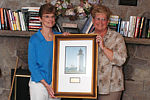 Beaver Island Chamber of Commerce Citizen of the Year 2004 - Connie Wojan