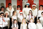 The Beaver Island Community School preforms The Twelve Days of Chirstmas