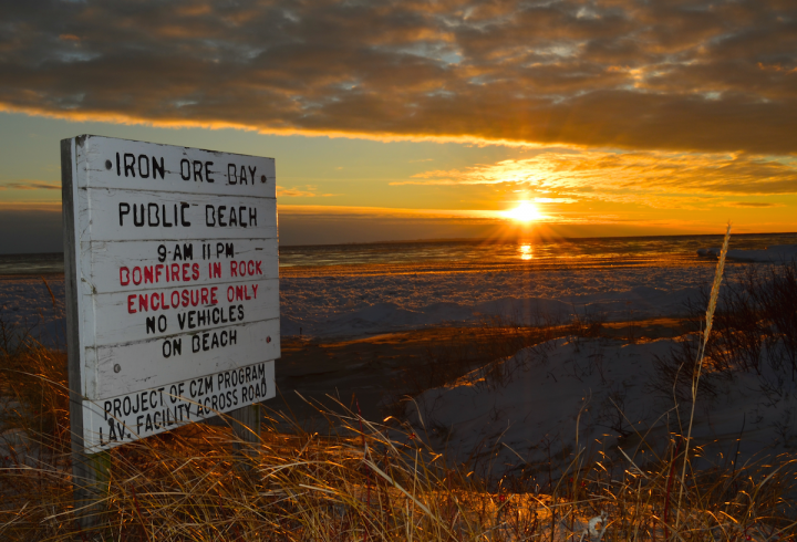 Iron Ore Bay Sunset