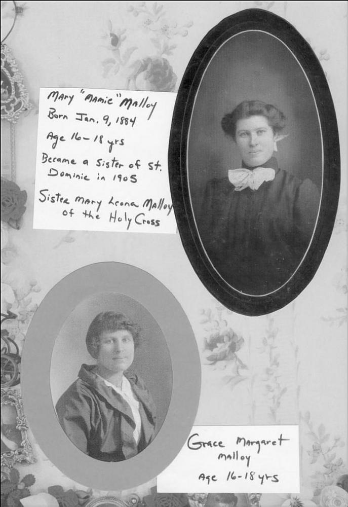 Mary Mamie Malloy and Grace Margaret Malloy