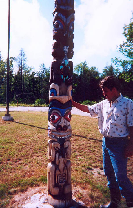 Skip Duhamel's World-class Totem Pole Carving